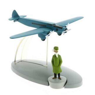 Tintin - The trimotor plane (King Ottokar's Sceptre)