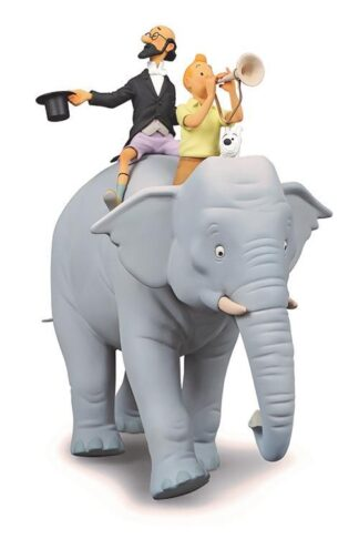 Tintin på elefant - Kih-Oskh - Samlarobjekt