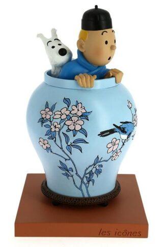 Tintin i vas - Resin - Den blå Lotus