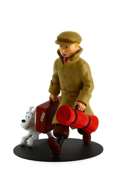 Tintin - Resin - Tintin och Milou ankommer