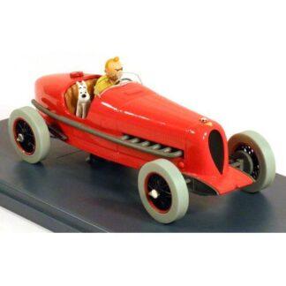 Tintin - 1:24 Modellbil #1 - Amilcar SSTC & Alfa Romeo P3