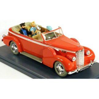 Tintin - 1:24 Modellbil #3 - Taxi Cadillac