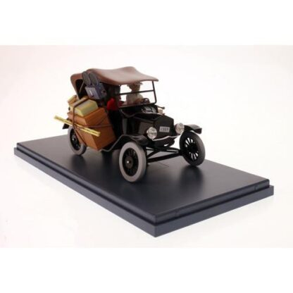 Tintin - 1:24 Modellbil #5 - Black Ford Model T
