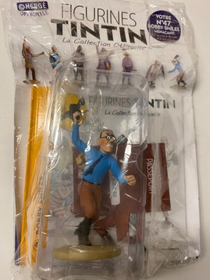 Tintin - Statyett N47 - Bobby Smiles - RARE