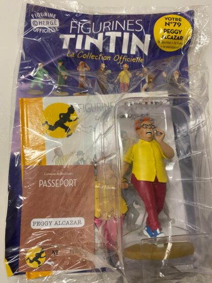 Tintin - Statyett N79 - Peggy Alcazar - RARE