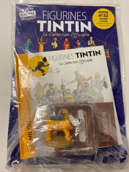 Tintin - Statyett N32 - Milou på månen - RARE