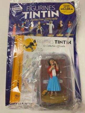 Tintin - Statyett N91 - Miarka - RARE