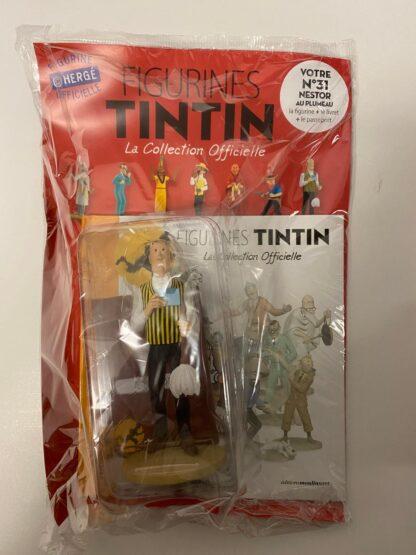 Tintin - Statyett N31 - Nestor med vippa - RARE