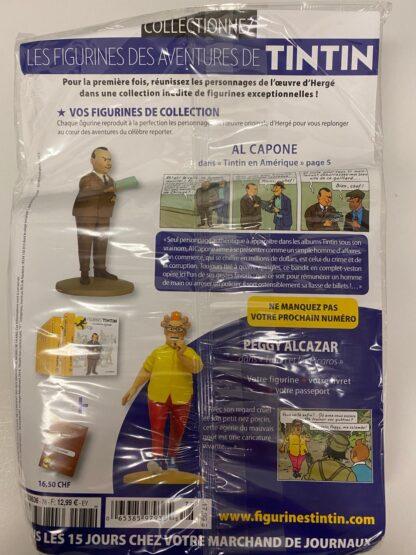 Tintin - Statyett N78 - Al Capone - RARE