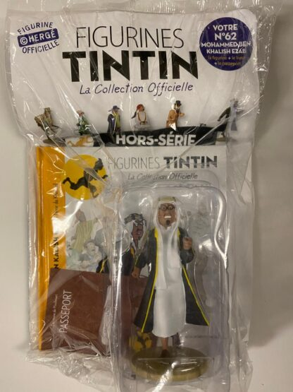 Tintin - Statyett N62 - Mohammed Ben Khalish Ezab - RARE