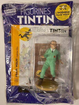 Tintin - Statyett N75 - Frank Wolff- RARE