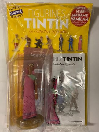 Tintin - Statyett N85 - Madame Yamilah - RARE