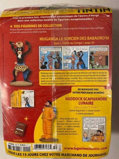 Tintin - Statyett N100 - Muganga - RARE
