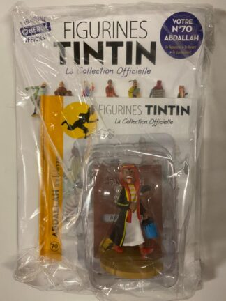 Tintin - Statyett N70 - Abdallah - RARE