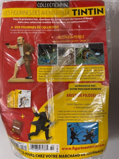 Tintin - Statyett N80 - Alonzo Perez - RARE