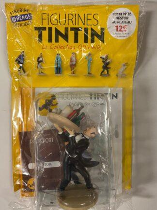 Tintin - Statyett N18 - Nestor Au Plateau - RARE