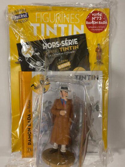 Tintin - Statyett N73 - Ramon Bada - RARE
