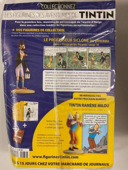 Tintin - Statyett N38 - Le Professeur Siclone Au Pinceau - RARE