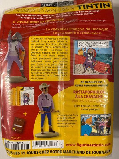 Tintin - Statyett N44 - Le Chevalier De Hadoque - RARE