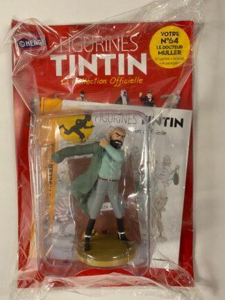 Tintin - Statyett N64 - Le Docteur Muller - RARE