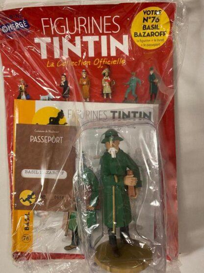 Tintin - Statyett N76 - Basil Bazaroff - RARE