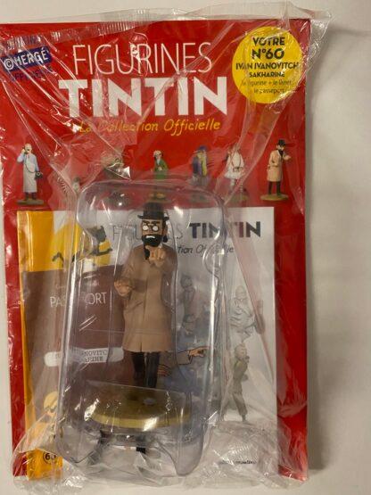 Tintin - Statyett N60 - Ivan Ivanovitch - RARE