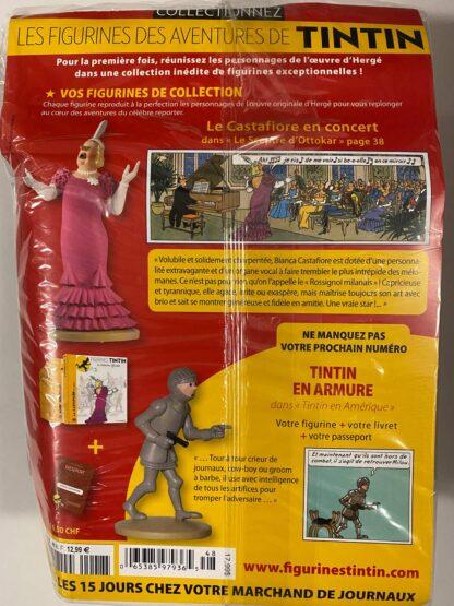 Tintin - Statyett N48 - La Castafiore - RARE