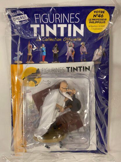 Tintin - Statyett N46 - Le Professeur Philippulus - RARE