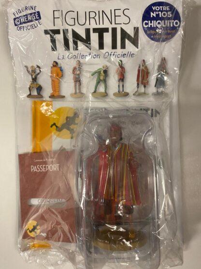 Tintin - Statyett N105 - Chiquito - RARE