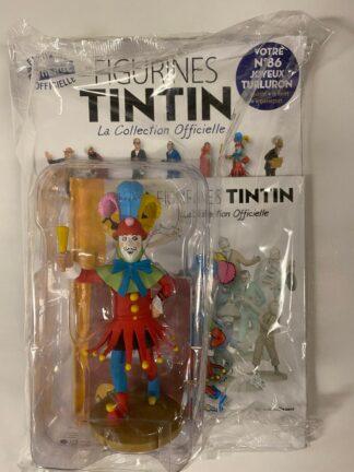 Tintin - Statyett N86 - Le Joyeux Turluron - RARE