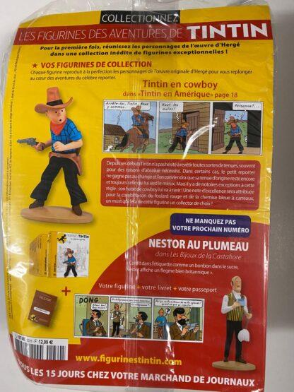 Tintin - Statyett N30 - Tintin En Cowboy - RARE