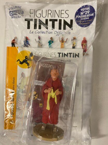 Tintin - Statyett N29 - Foudre Bénie - RARE