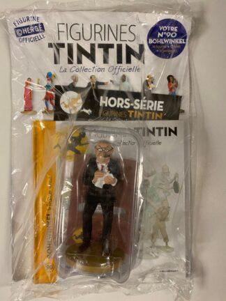 Tintin - Statyett N90 - Bohlwinkel - RARE