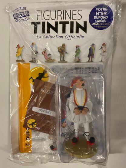 Tintin - Statyett N59 - Dupond Syldave - RARE