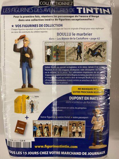 Tintin - Statyett N35 - Boullu Le Marbrier - RARE