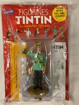 Tintin - Statyett N92 - Colonel Alvarez - RARE