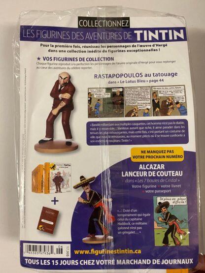 Tintin - Statyett N6 - Rastapopoulos Au Tatouage - RARE