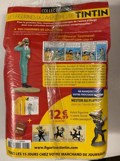 Tintin - Statyett N17 - Le Professeur Tournesol - RARE