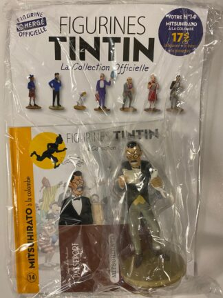 Tintin - Statyett N14 - Mitsuhirato á la Colombe - RARE
