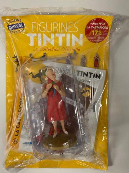 Tintin - Statyett N13 - La Castafiore - RARE