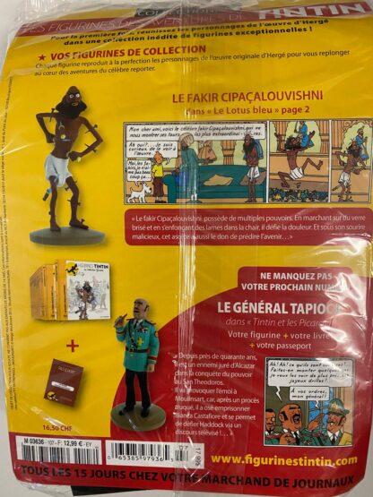Tintin - Statyett N107 Le Fakir - RARE