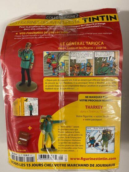 Tintin - Statyett N108 - Le Général Tapioca - RARE