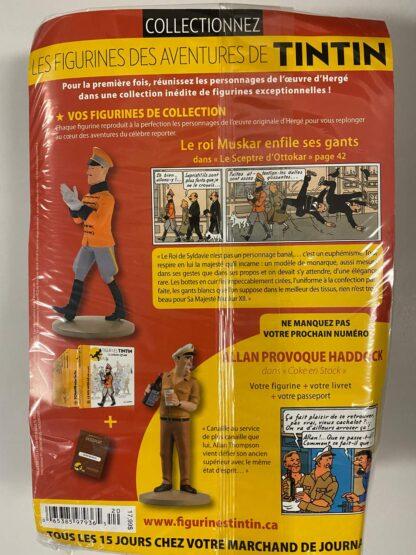 Tintin - Statyett N20 - Le Roi Muskar - RARE