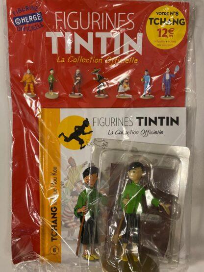 Tintin - Statyett N8 - Tchang - RARE