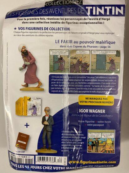 Tintin - Statyett N82 - Le Fakir - RARE