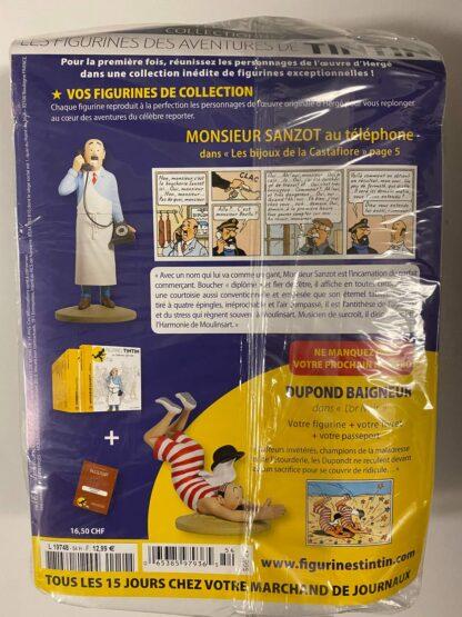 Tintin - Statyett N54 - Monsieur Sanzot - RARE