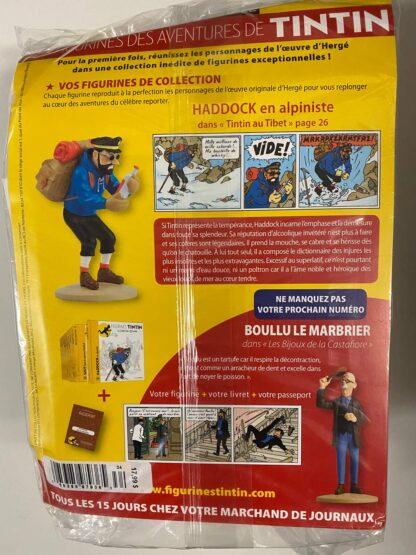 Tintin - Statyett N34 - Haddock - En Alpiniste - RARE