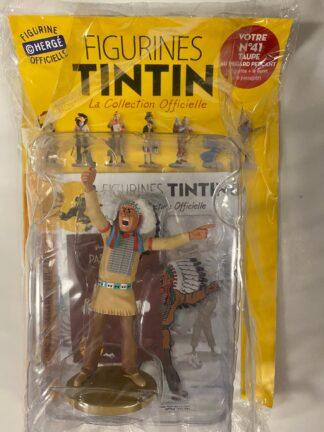 Tintin - Statyett N41 - Taupe Au Regard Percant - RARE
