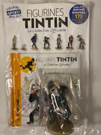Tintin - Statyett N4 - Dupont Engoncé - RARE