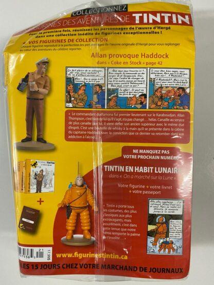 Tintin - Statyett N21 - Allan Provoque Haddock - RARE